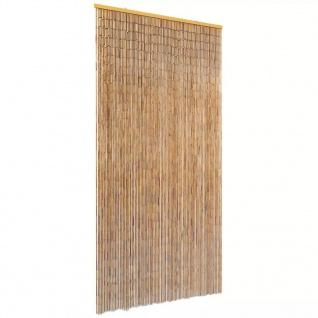 vidaXL Insektenschutz Türvorhang Bambus 90 x 220 cm