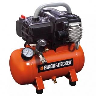 BLACK+DECKER Luftkompressor mit 6 L Tank NKBB304BND008
