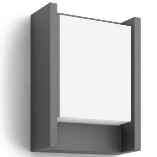 Philips myGarden LED Wandleuchte Arbour 6 W Anthrazit 164609316