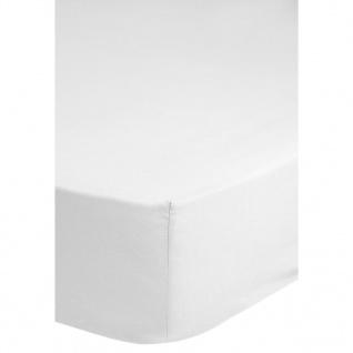 Emotion Bügelfreies Spannbettlaken 90x200 cm Weiß 0220.00.42