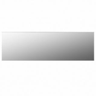 vidaXL Rahmenloser Spiegel 140x40 cm Glas