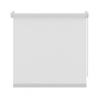 Decosol Rollo Mini Lichtdurchlässig Uni Weiß 127 x 160 cm