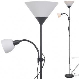 vidaXL Stehlampe Schwarz - Vorschau 3
