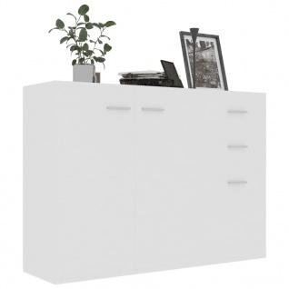 vidaXL Sideboard Weiß 105 x 30 x 75 cm Spanplatte - Vorschau 3