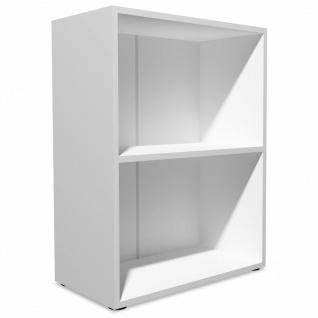 vidaXL Bücherregal Spanplatte 60x31x78 cm Weiß - Vorschau 3