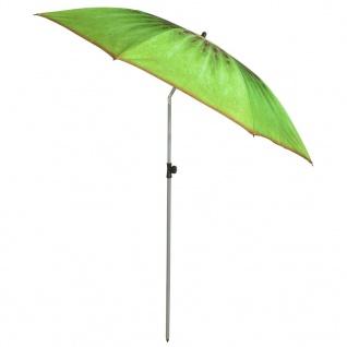 "Esschert Design Schirm "" Kiwi"" 184 cm Grün TP263"