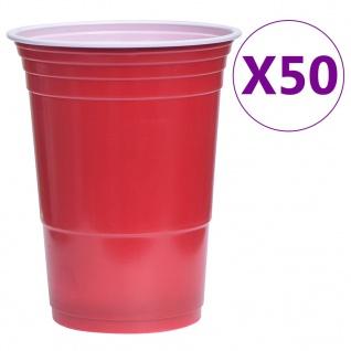 vidaXL Beer-Pong Set 0, 5 L Kunststoff - Vorschau 4