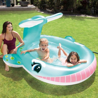 Intex Wal Pool mit Wasserspritzfunktion 201x196x91 cm