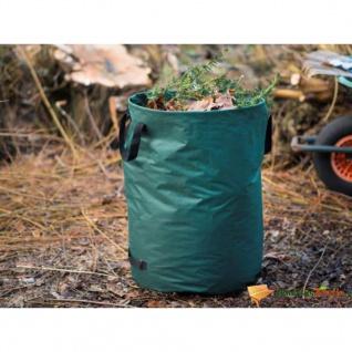 Nature Gartenabfallsack Rund 240 L Grün