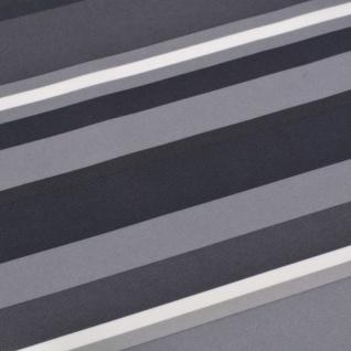 vidaXL Balkonsichtschutz Oxford-Gewebe 75 x 600 cm Grau Gestreift - Vorschau 2
