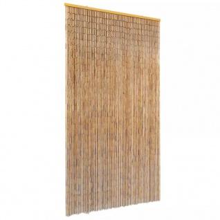 vidaXL Insektenschutz Türvorhang Bambus 100 x 220 cm