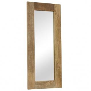 vidaXL Spiegel Massives Mangoholz 110 x 50 cm