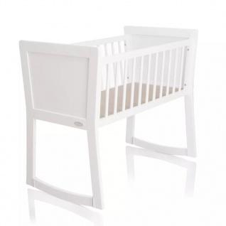 Baninni Babybett Nocchio 40x90 cm Weiß BNBT001-WH