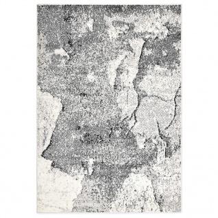 vidaXL Teppich Grau 80 x 150 cm PP