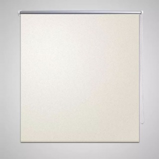 Verdunkelungsrollo Rollo 120 x 230 cm creme