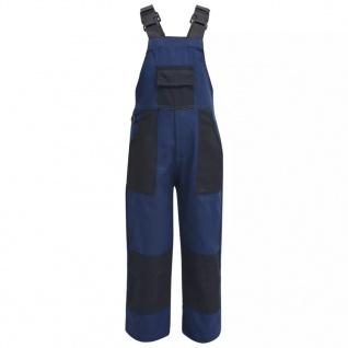 vidaXL Kinder Arbeitslatzhose Größe 134/140 Blau