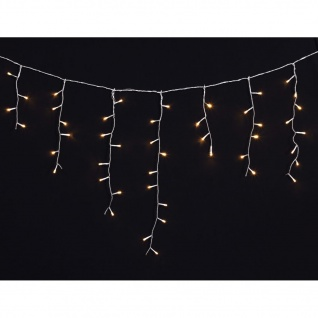 LED Eiszapfen Lichterkette 3, 9 x 0, 5 Meter wasserdicht