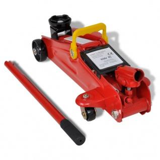 Boden-Wagenheber Hydraulische Wagenheber 2 Tonne Rot