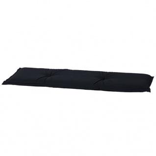 Madison Outdoor Bankauflage Panama 120 x 48 cm Schwarz BAN6B223