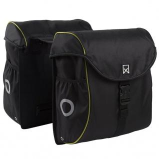 Willex Fahrradtaschen 38 L Schwarz und Gelb 16103