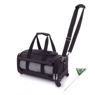 SHERPA Haustier-Transporttasche Ultimate On Wheels Schwarz