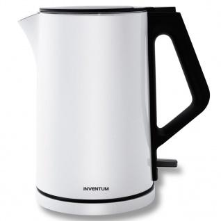 Inventum Schnurloser Elektrischer Wasserkocher 1, 5L 2200W Weiß HW715W