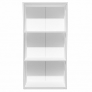 vidaXL Bücherregal Spanplatte 60x31x116, 5 cm Weiß - Vorschau 3