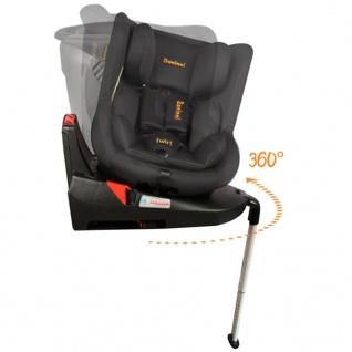 Baninni Autositz Twirl 360 Isofix 0+1 Schwarz BNCS021-BK