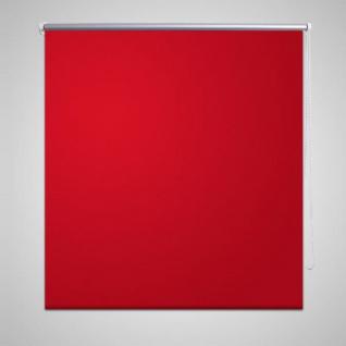 Verdunkelungsrollo 120 x 175 cm rot