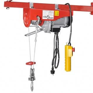 Elektrischer Seilhebezug 1300 W 400/800 kg