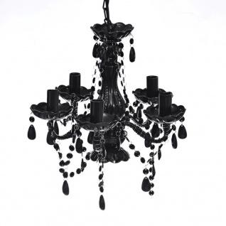 Acryl Kronleuchter schwarz