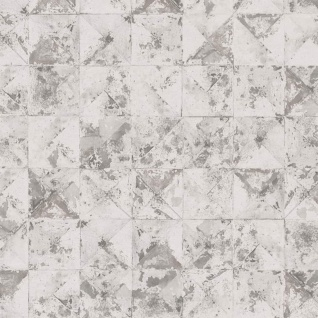 DUTCH WALLCOVERINGS Tapete Quadrat-/Dreiecks-Design Beige 42501-20