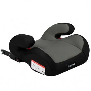 Baninni Auto-Kindersitzerhöhung Robu Isofix 2+3 Dunkelgrau BNCS023-GY