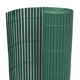 vidaXL Gartenzaun Doppelseitig 195×500 cm Grün