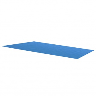 vidaXL Rechteckige Poolabdeckung 1000x600 cm PE Blau