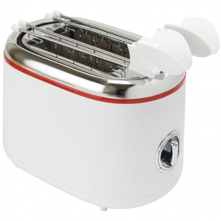 Bestron ATM200RE Sandwichtoaster mit 2 Toast-Halterungen - Vorschau 2