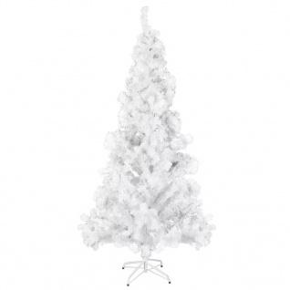 vidaXL Künstlicher Weihnachtsbaum Stahl-Ständer 210 cm 910 Zweige