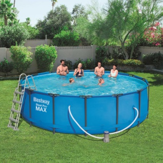 Bestway Steel Pro MAX Swimmingpool-Set Rund 457×122 cm 56438