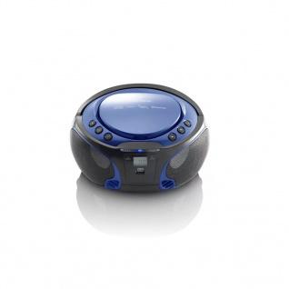 Lenco Radio und CD-Player SCD-550 Blau