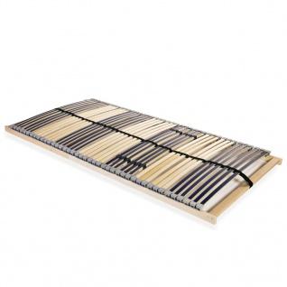 vidaXL Lattenrost mit 42 Latten 7 Zonen 100 x 200 cm - Vorschau 1