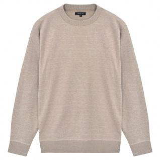vidaXL Herren Pullover Sweater Rundhals Beige XXL