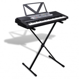 Elektronisches Keyboard 54-Tasten mit Keyboard- und Notenständer