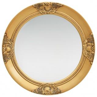 vidaXL Wandspiegel im Barock-Stil 50 cm Golden
