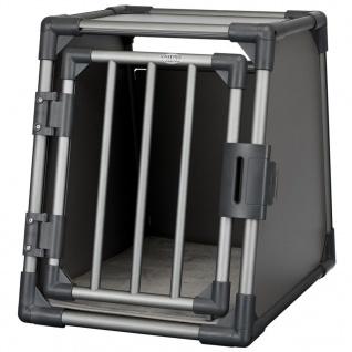 TRIXIE Hunde-Transportbox Größe S Aluminium Graphitgrau 39335