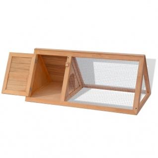 vidaXL Kleintier-/Kaninchenstall Holz