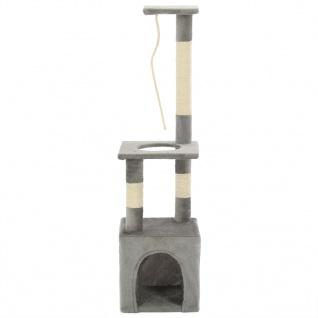 vidaXL Katzen-Kratzbaum mit Sisal-Kratzsäulen 109 cm Grau - Vorschau 2
