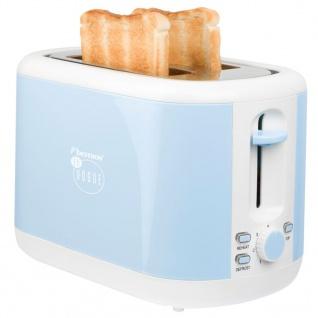 Bestron Toaster Blau 930 W ATS300EVB