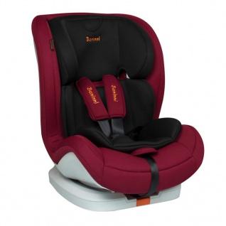 Baninni Autositz Fiero Isofix 1+2+3 Dunkelrot BNCS001-DRD