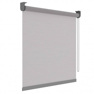 Decosol Rollo Deluxe Lichtdurchlässig Weiß Streifen 120×190 cm