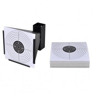 Trichter Kugelfang 14 cm + 100 Papier-Zielscheiben